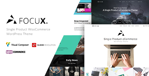 Focux - Multi-Purpose Single Product WooCommerce WordPress Theme - WooCommerce eCommerce