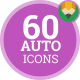 Auto Transport Icons - Flat Animated Icon Pack - VideoHive Item for Sale