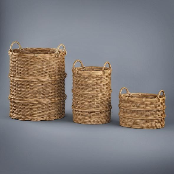 Basket Collection - 3DOcean Item for Sale