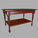 Table wooden - 3DOcean Item for Sale