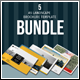 A5 Lanscape Brochure Template Bundle - GraphicRiver Item for Sale