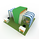 Fair stall-1 (Low poly) - 3DOcean Item for Sale