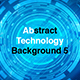 Abstract Technology Background 5 - VideoHive Item for Sale