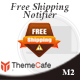 Free Shipping Notifier Magento 2 Extension