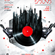 Megapolis Sound Party Flyer vol.2 - GraphicRiver Item for Sale
