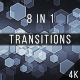Hexagons Transitions - VideoHive Item for Sale