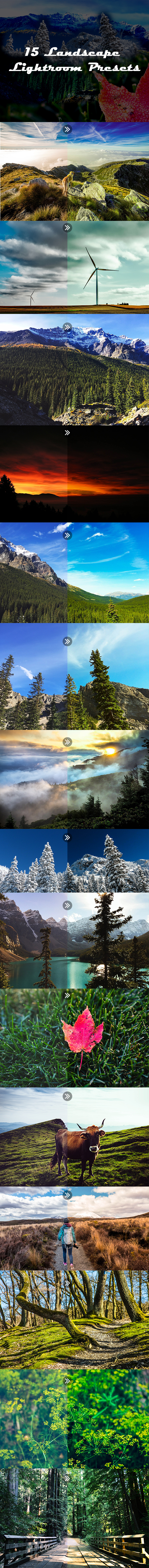 15 Landscape Lightroom Presets - Landscape Lightroom Presets