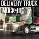Delivery Truck Mock-Up - GraphicRiver Item for Sale