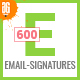 600 Email Signature - GraphicRiver Item for Sale