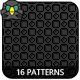 16 Pixel Patterns - GraphicRiver Item for Sale