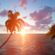 Ocean and Palm Island - VideoHive Item for Sale