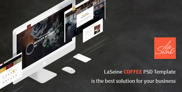 Laseine – Cafe & Restaurant WordPress Theme