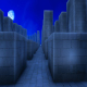 Night labyrinth