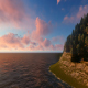 Sunset Peninsula Landscape - VideoHive Item for Sale