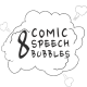 8 Comic Speech Bubbles - VideoHive Item for Sale