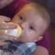Child Enjoy Baby Food.