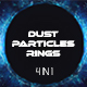 Dust Particles Rings