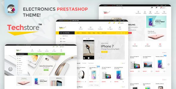 Image of Techstore16 Responsive Prestashop Theme