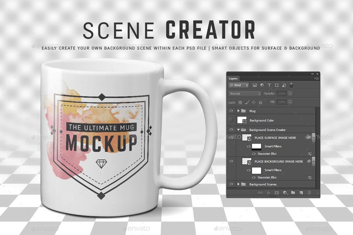11 oz 15 oz mug mockup templates by ultimatemockups graphicriver. Black Bedroom Furniture Sets. Home Design Ideas