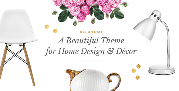All4Home - A Beautiful Theme for Home Décor and Household Essentials - Retail WordPress