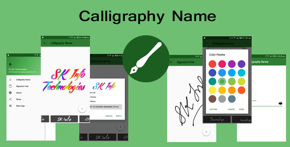 Calligraphy Name - CodeCanyon Item for Sale