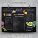 Vintage Chalkboard Menu - GraphicRiver Item for Sale