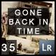 35 (Vintage) Gone Back In Time Presets - GraphicRiver Item for Sale