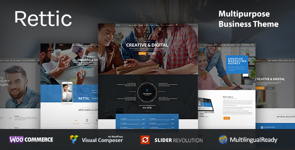Rettic - Business WordPress Theme - Business Corporate