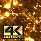 Abstract Golden Particles Glitter Background 4K - VideoHive Item for Sale