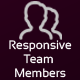 JAG Bootstrap Responsive Team Members