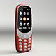phone Nokia 3310 -2017 - 3DOcean Item for Sale