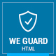 WE GUARD - Security & Guarding Services HTML - ThemeForest Item for Sale