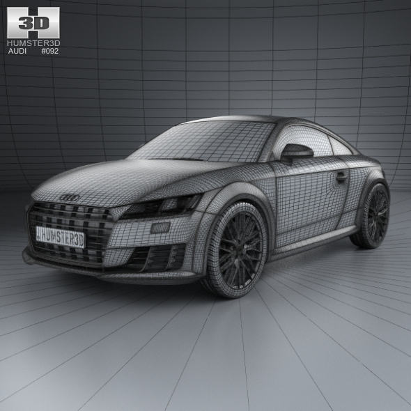 Audi TT 8S coupe 2015 by humster3d  3DOcean