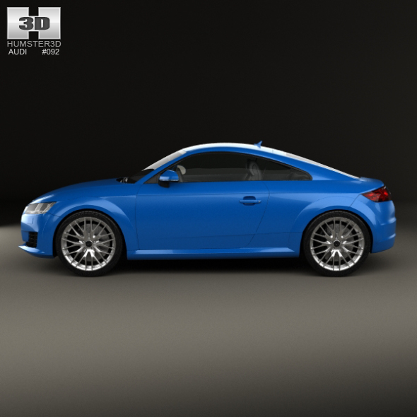 audi tt 8s coupe 2015 by humster3d 3docean. Black Bedroom Furniture Sets. Home Design Ideas