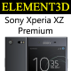 Element3D - Sony Xperia XZ Premium - 3DOcean Item for Sale
