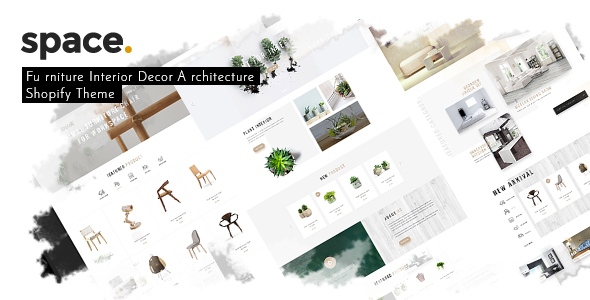 Space – Minimal Furniture Interior Decor Architecture Shopify Theme nulled