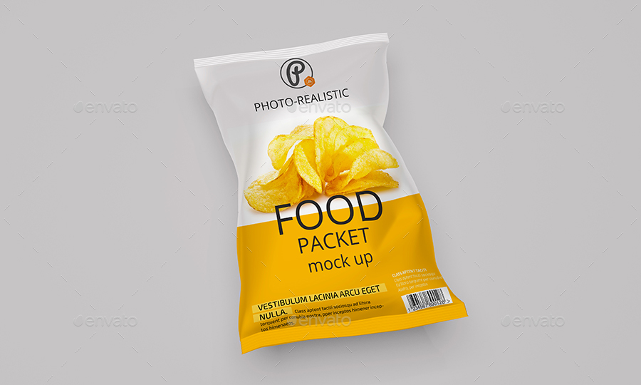 food packaging mock up by pmvch graphicriver