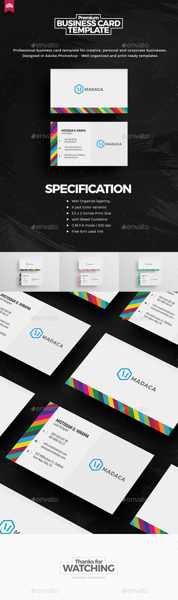 Creative - Pro Business Card v.2 - Creative Business Cards