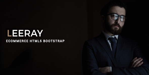 Leeray Ecommerce Bootstrap HTML