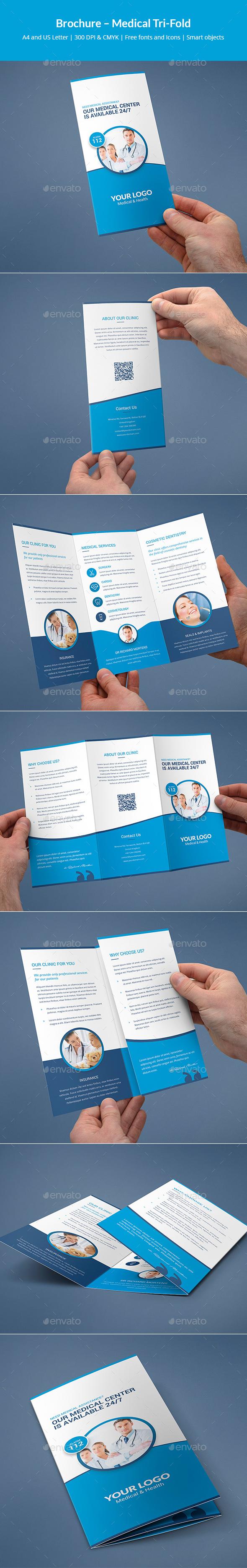 Brochure – Medical Tri-Fold - Informational Brochures