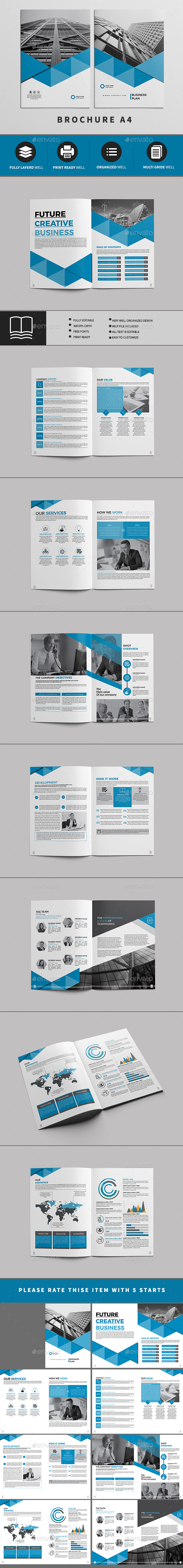 BROCHURE 16 PAGE - Brochures Print Templates