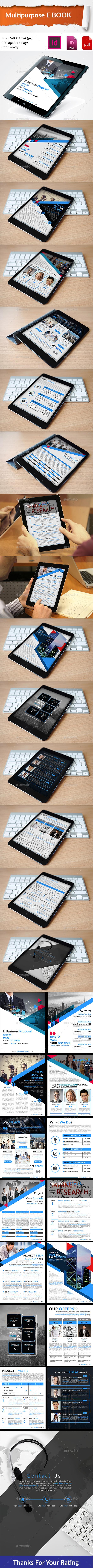 Multipurpose E Book - Digital Magazines ePublishing