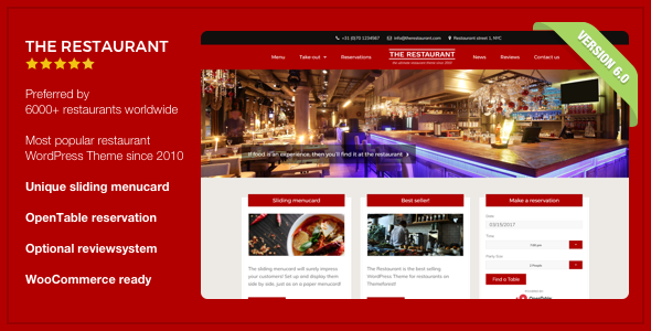 Free Download The Restaurant Nulled Latest Version
