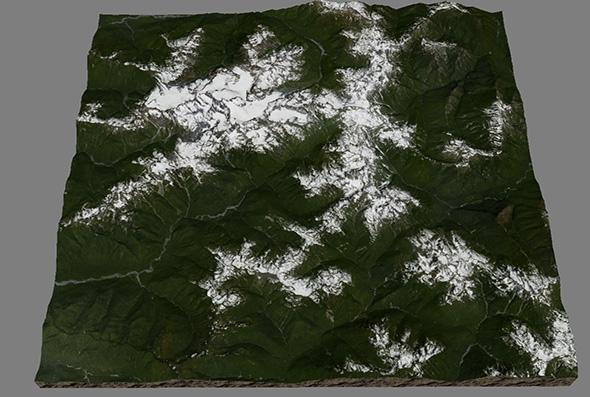 Mount Olympus, Utah - 3DOcean Item for Sale