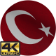 Fabric Turkish Flag - VideoHive Item for Sale