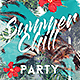 Summer Chill Party Template - GraphicRiver Item for Sale