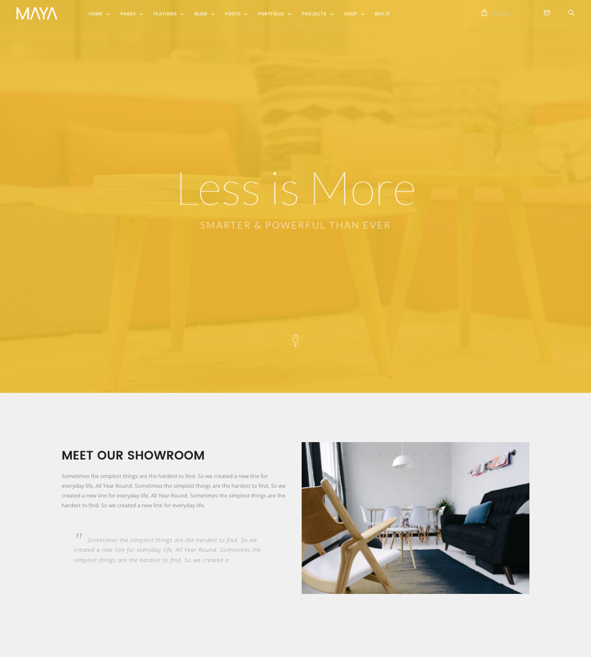 maya smart and powerful wp theme by uncommons themeforest