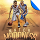 Match Madness Basketball Flyer Template