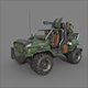 Jeep military game - 3DOcean Item for Sale