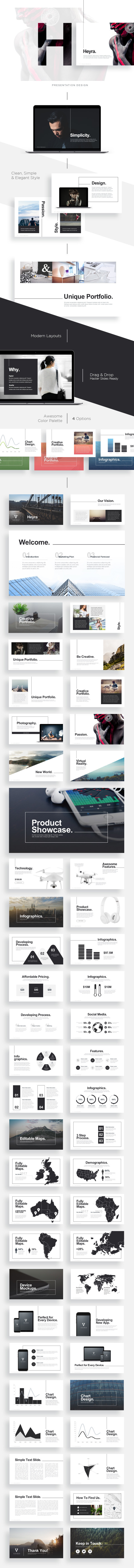 Heyra Powerpoint Template - PowerPoint Templates Presentation Templates